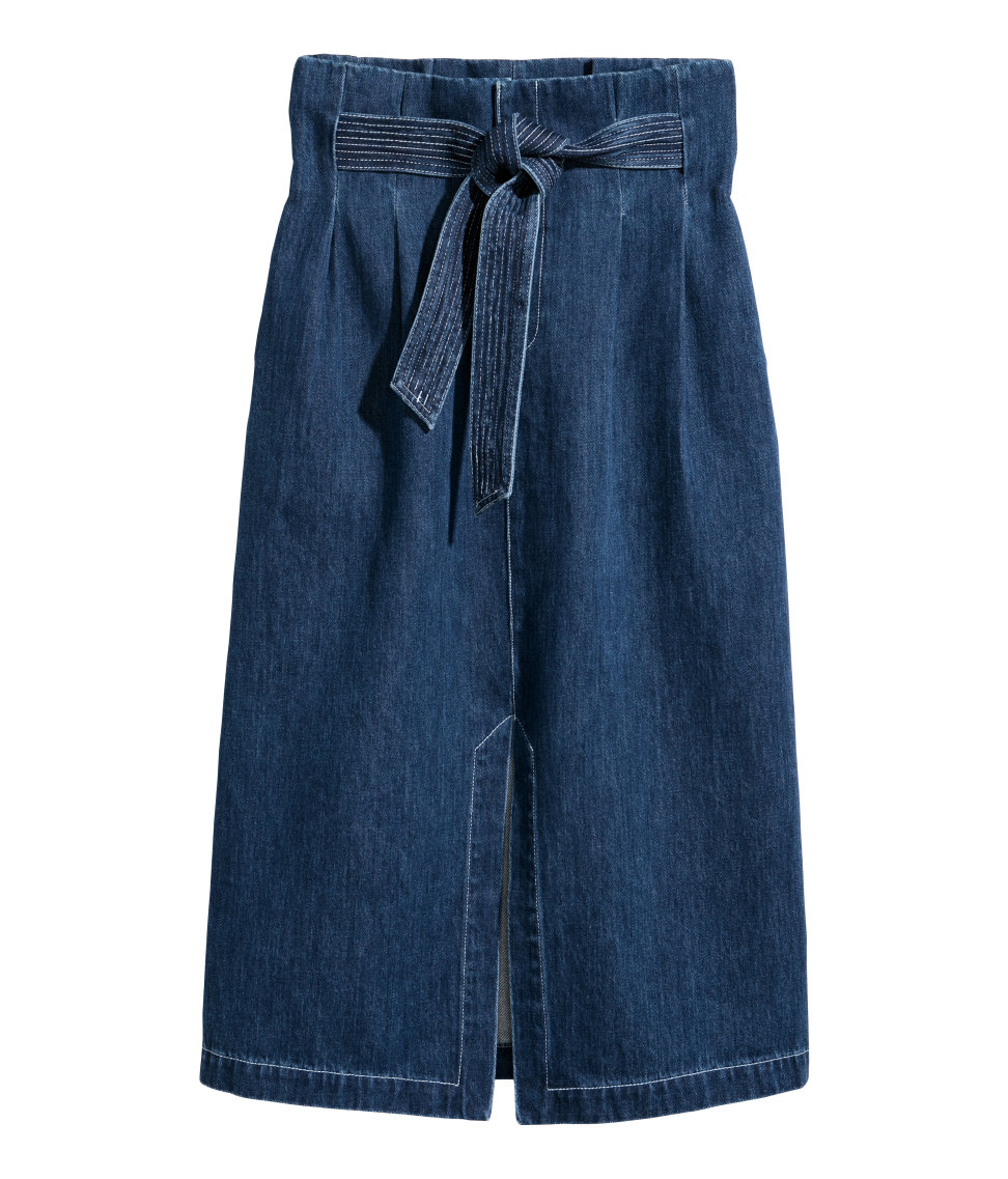 ROSE & IVY Journal The Find | The Perfect Denim Skirt for Winter