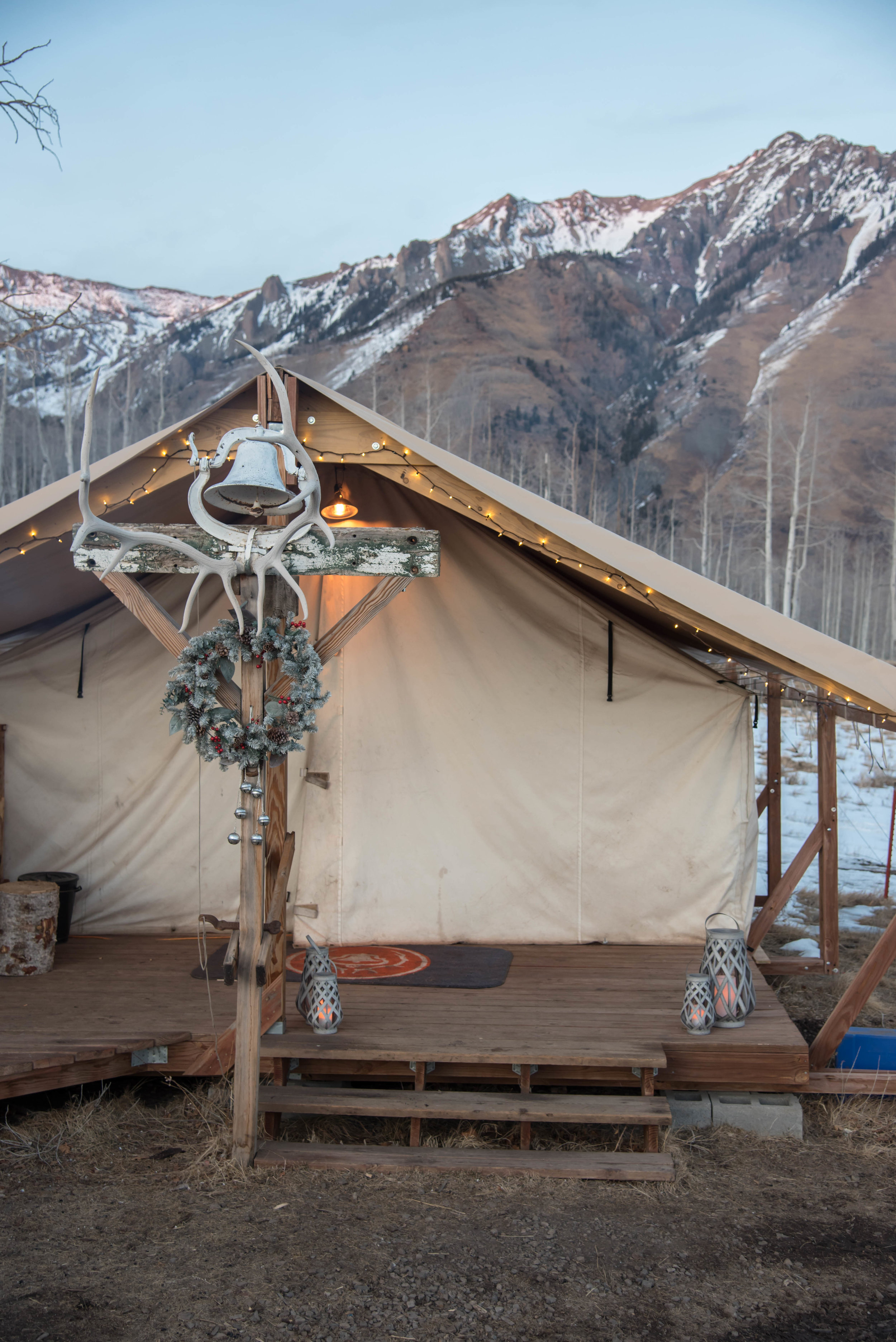 ROSE & IVY Journal Escape to Telluride Telluride Sleighs & Wagons
