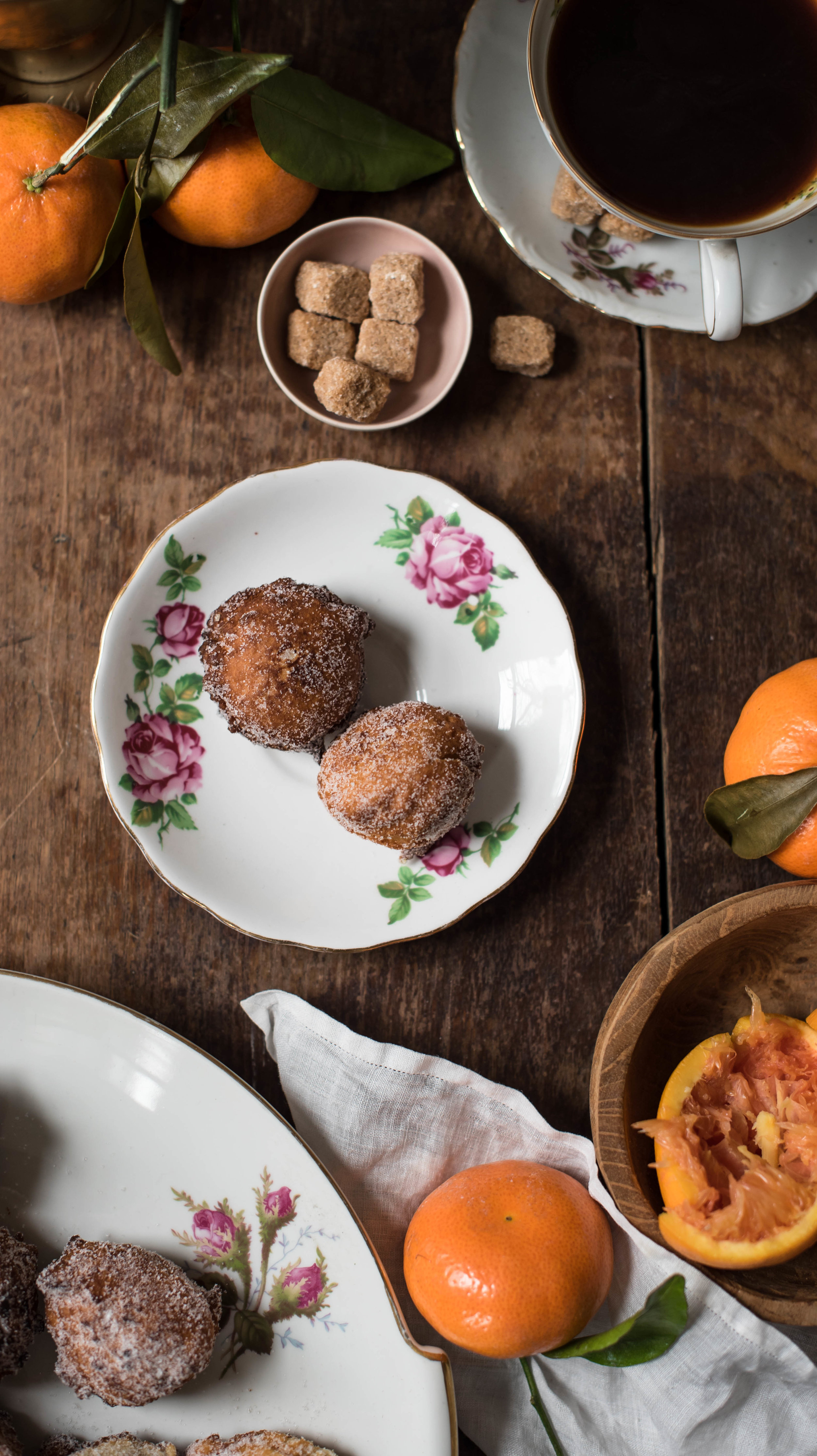 ROSE & IVY Journal Cook the Book | 'Tasting Rome' + Castagnole Recipe