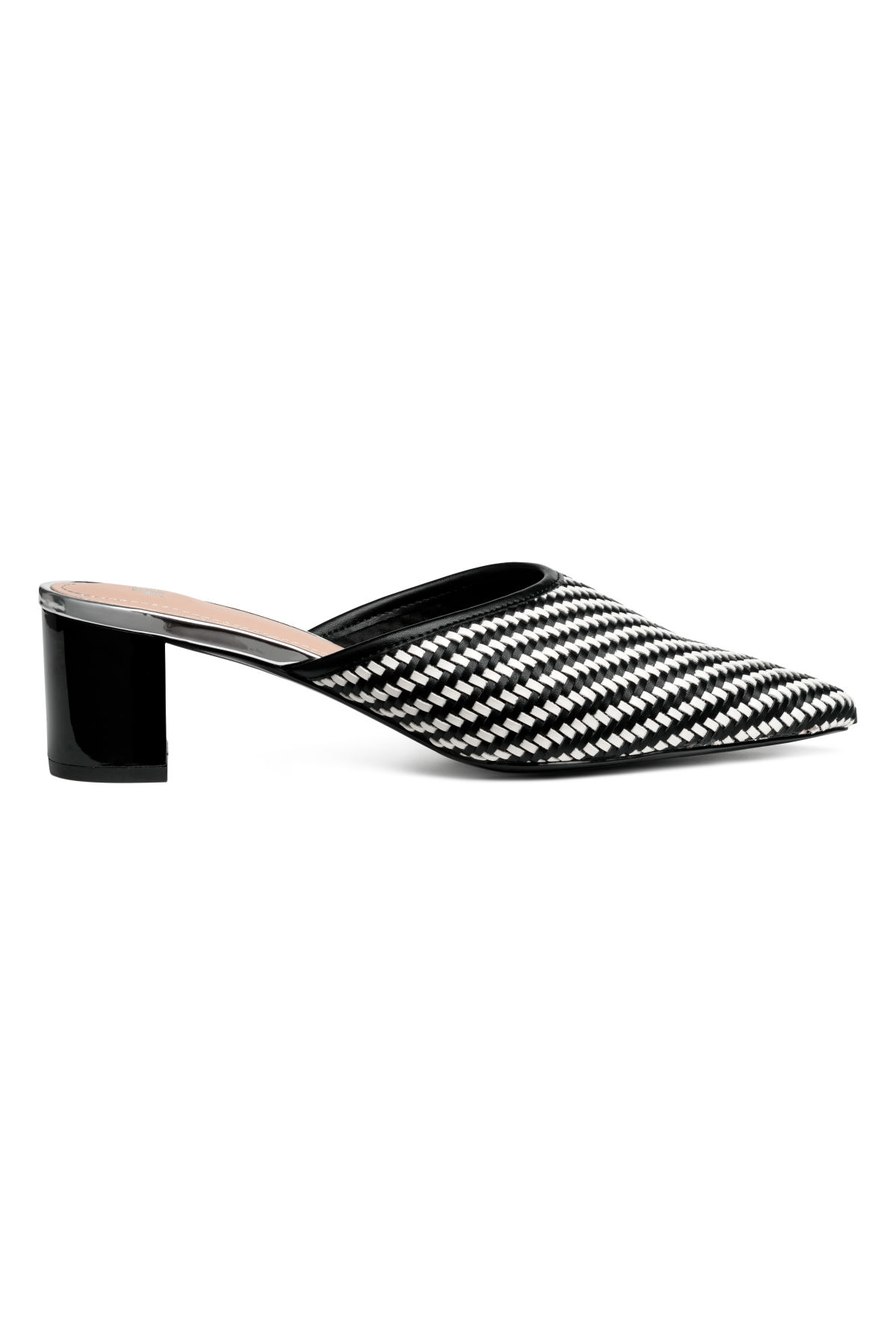 The Find - Black & White Mules Under $40