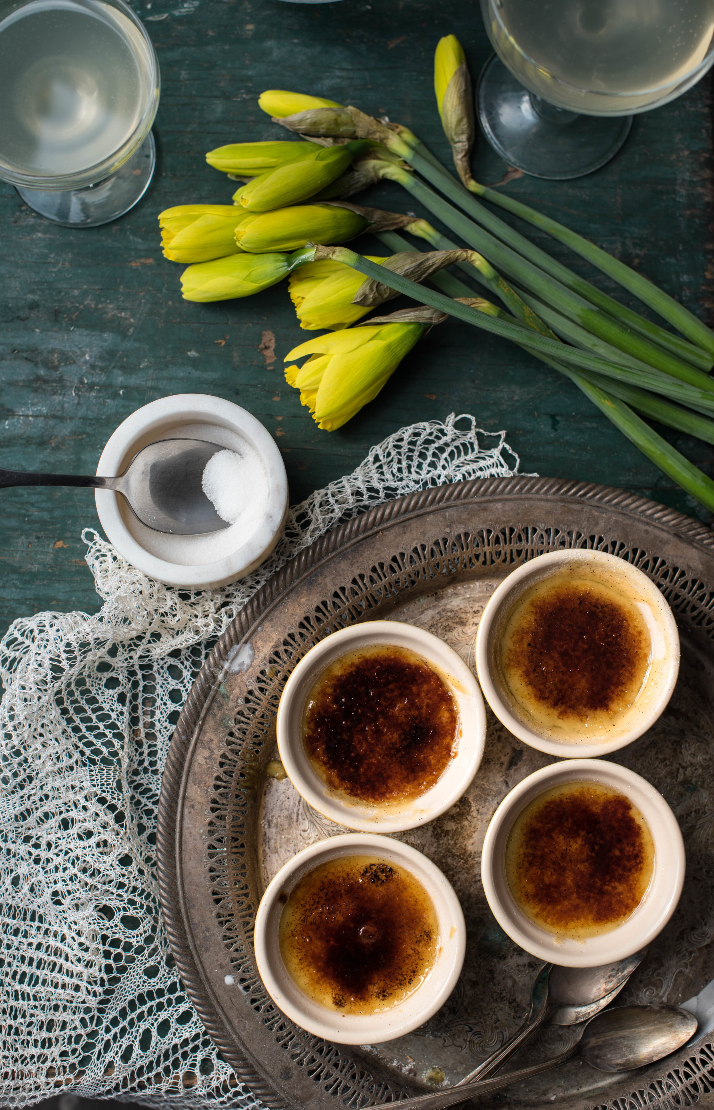 ROSE & IVY Journal Cook the Book | 'The Cottage Kitchen' Crema Catalana