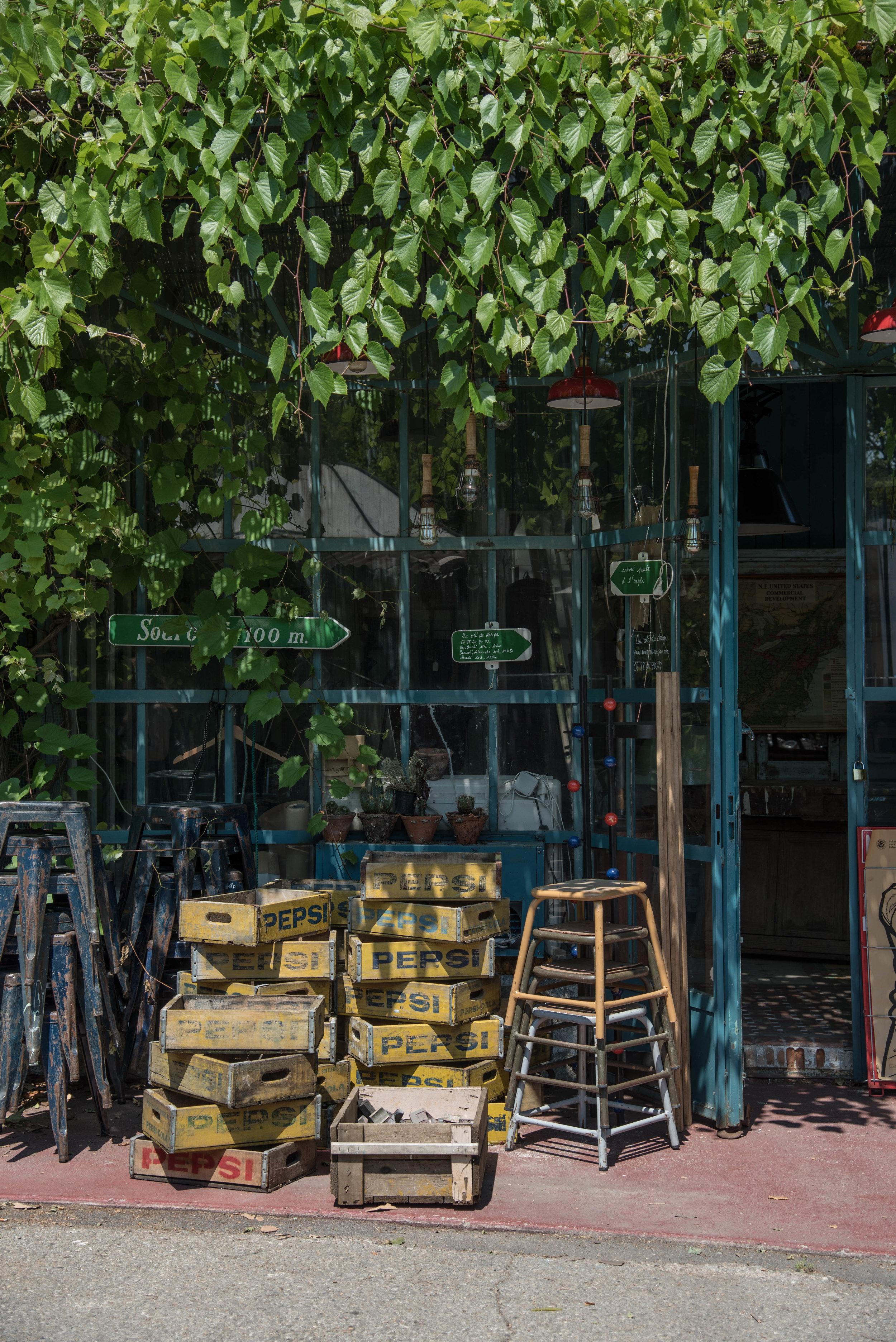 A must visit, Du Cote du Design Shop, in town that brims with design inspiration.