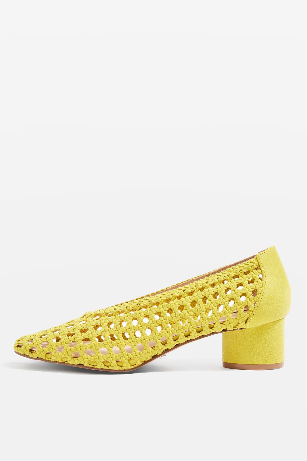 ROSE & IVY Journal The Find | Yellow Woven Heels