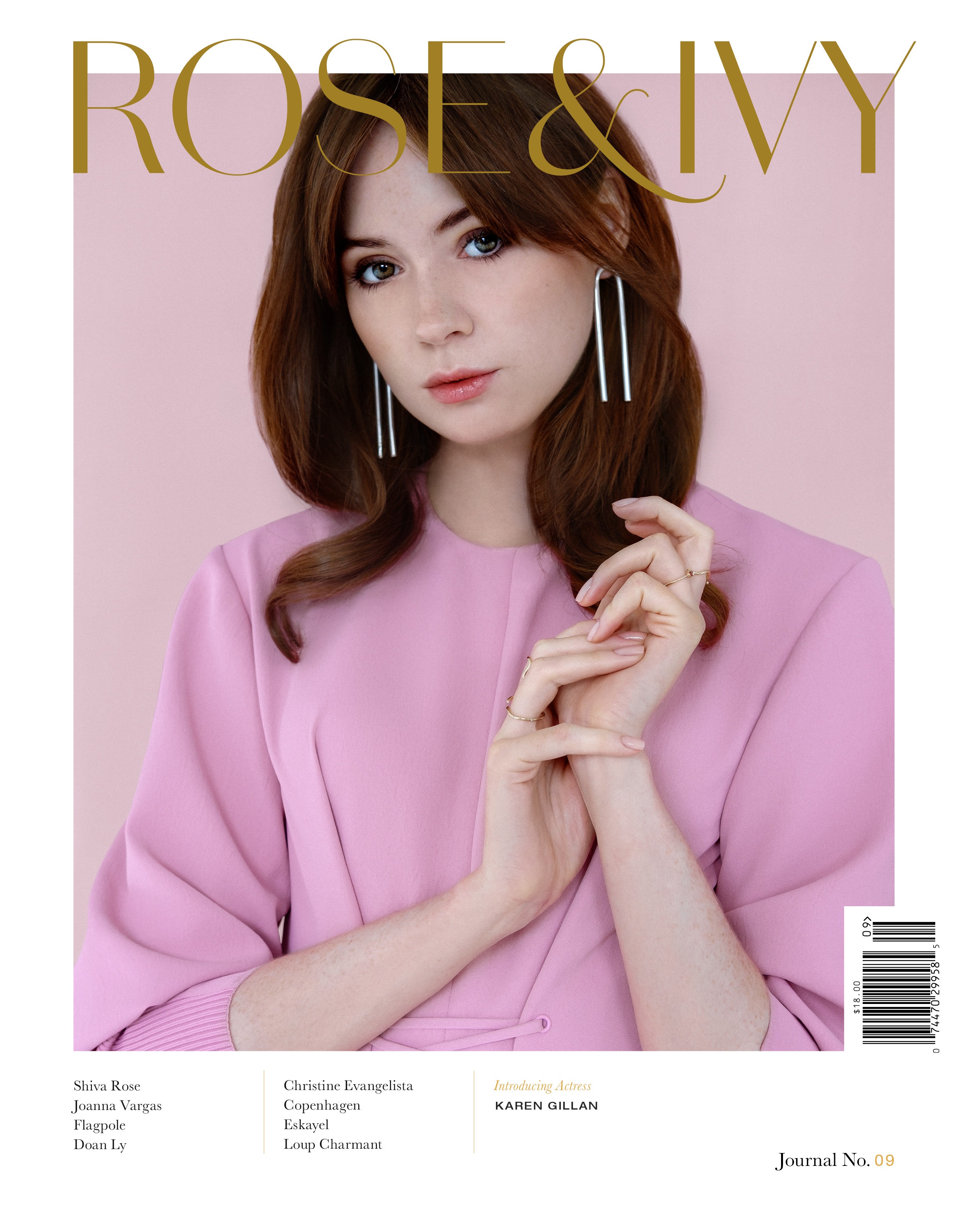 Pre-Order ROSE & IVY Journal Issue No.09