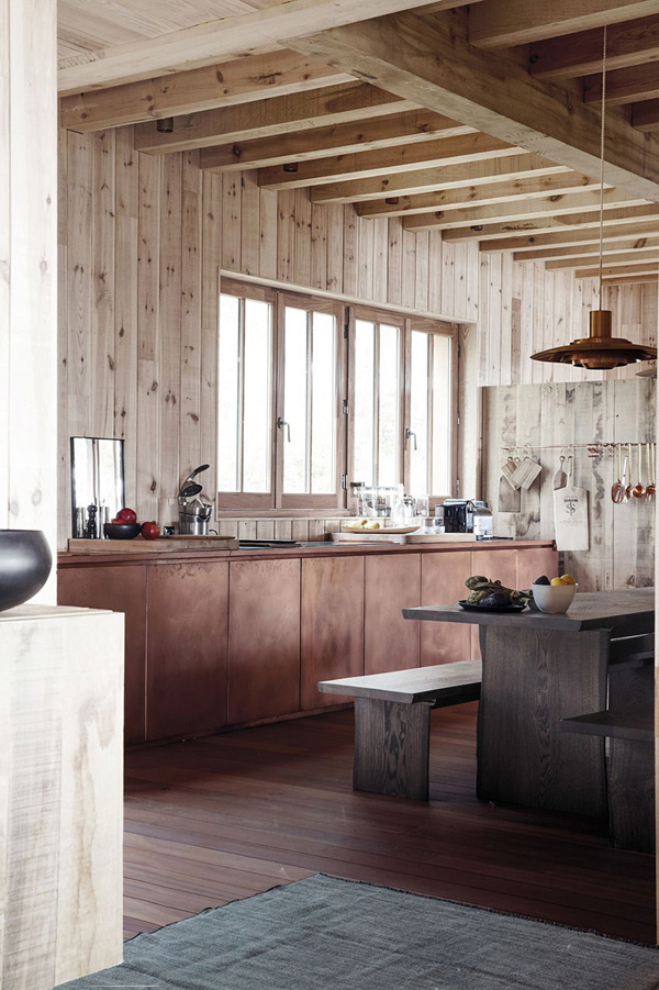 ROSE & IVY Journal Interior Trend | Raw Wood Interior Details