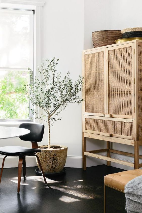 ROSE & IVY Journal The Material | Rattan + Get the Look