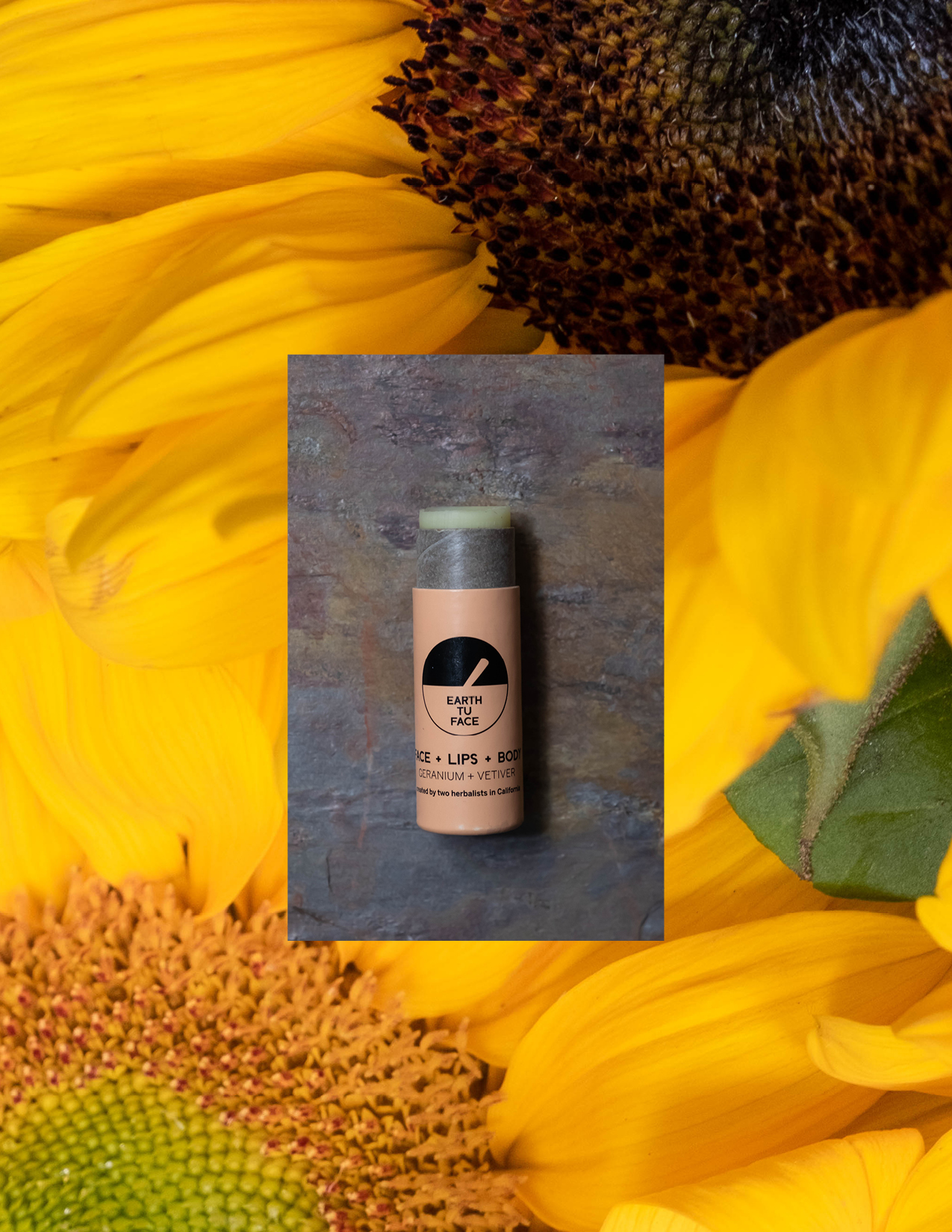 ROSE  & IVY Journal The Beauty Ingredient Sunflower Oil Earth Tu Face Stick