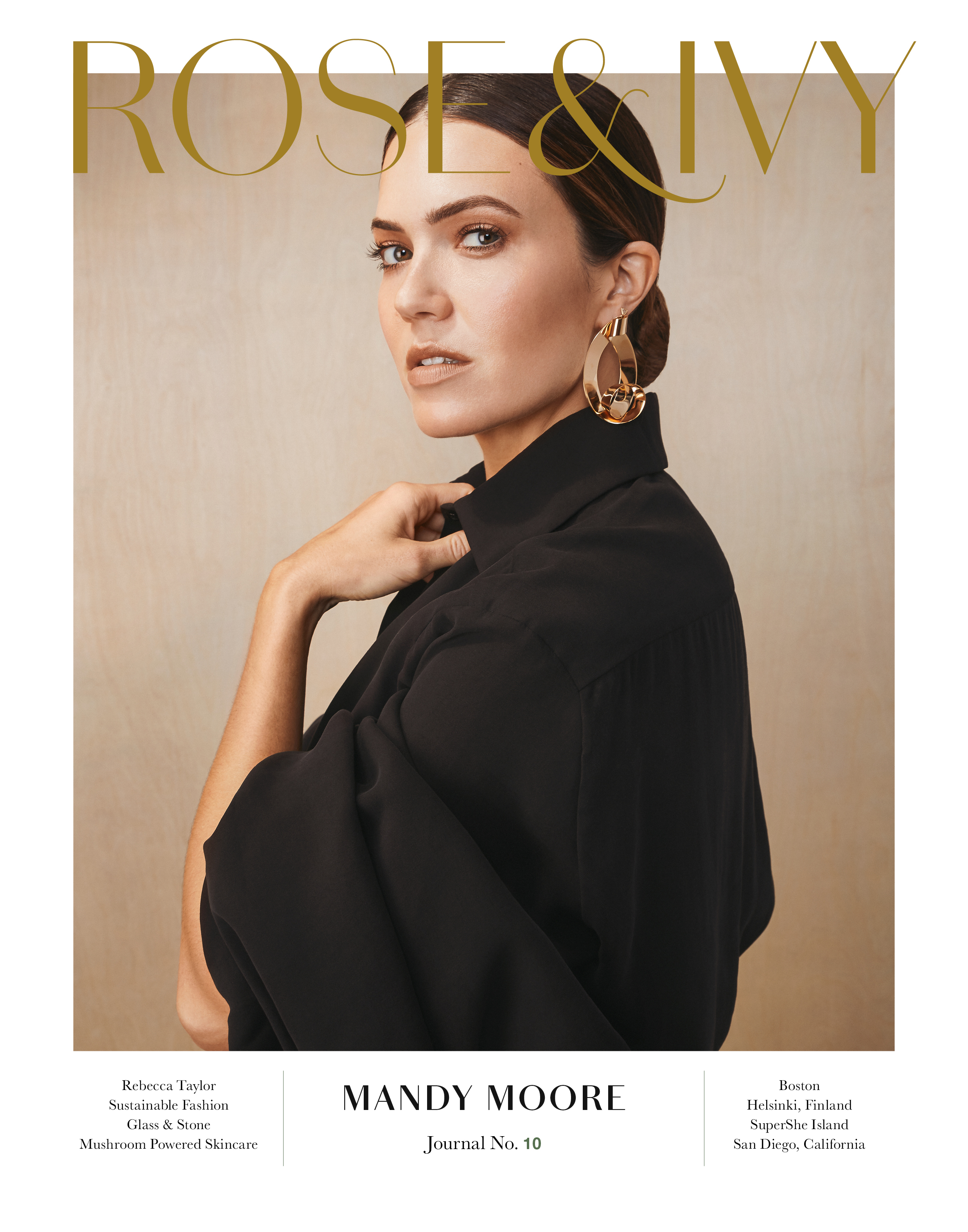 ROSE & IVY Journal NO.10 Starrring Mandy Moore