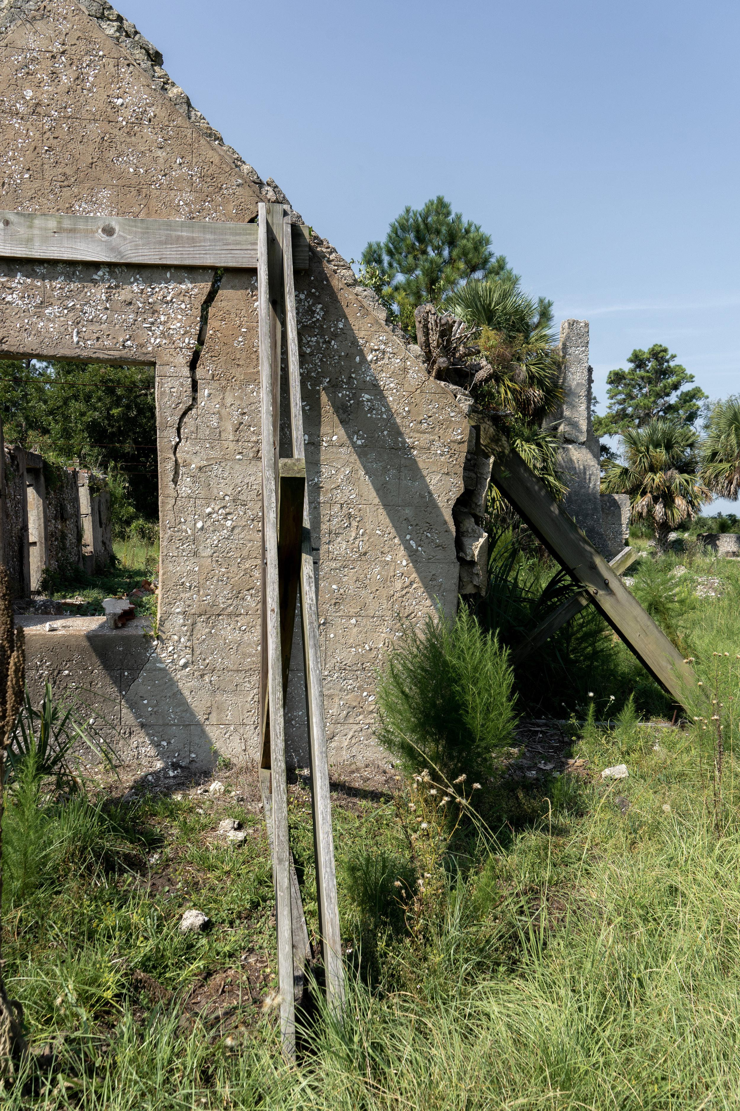 A Trip off the Coast Sapelo Island Plantation Ruine