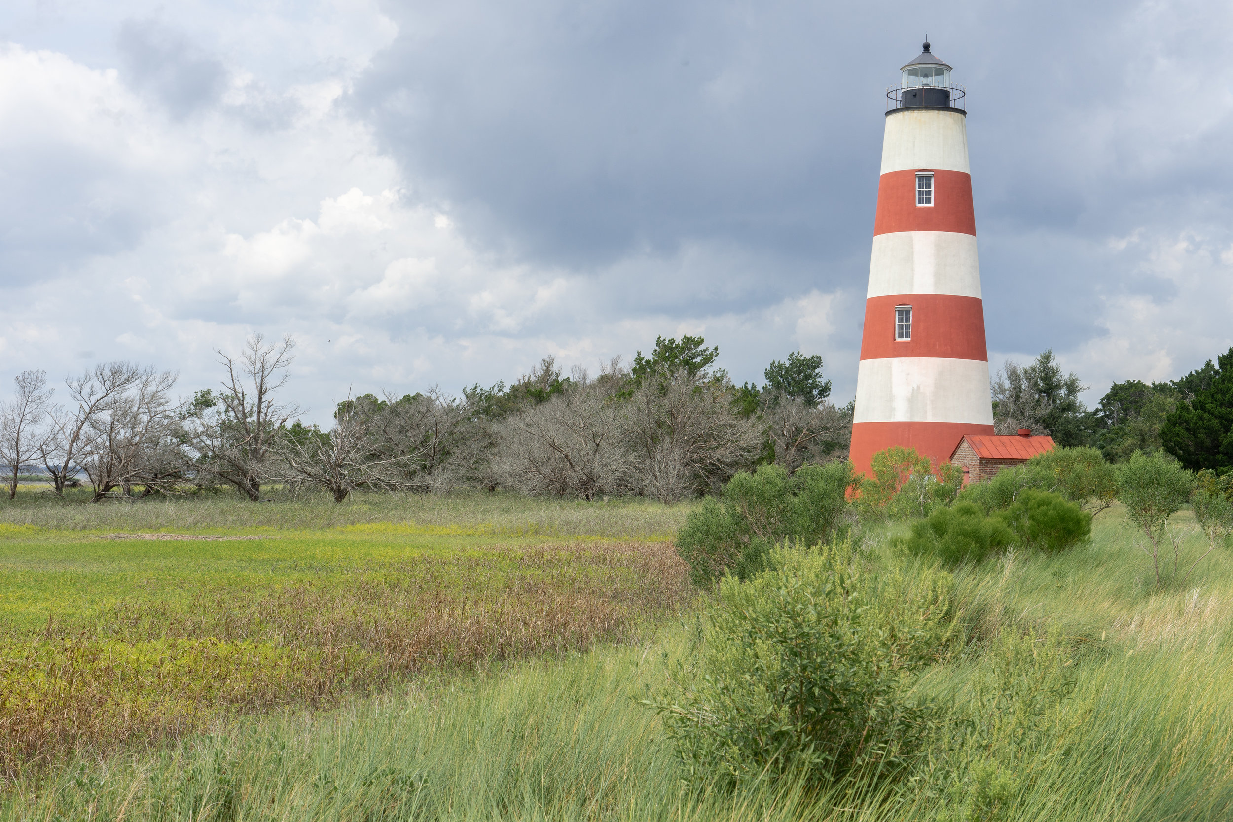 A Trip off the Coast Sapelo Island Red Lighthouse