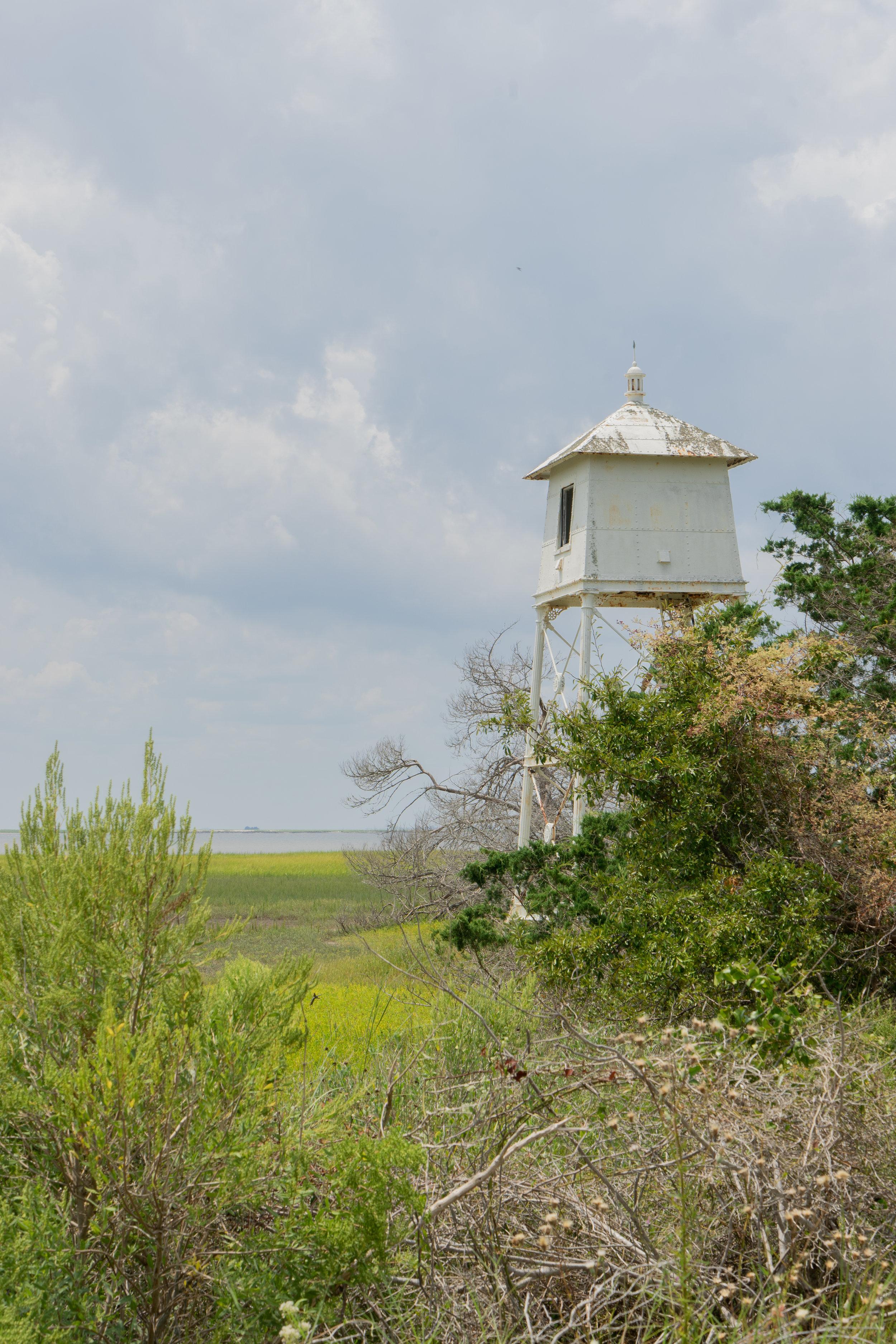 A Trip off the Coast Sapelo Island Old Light House
