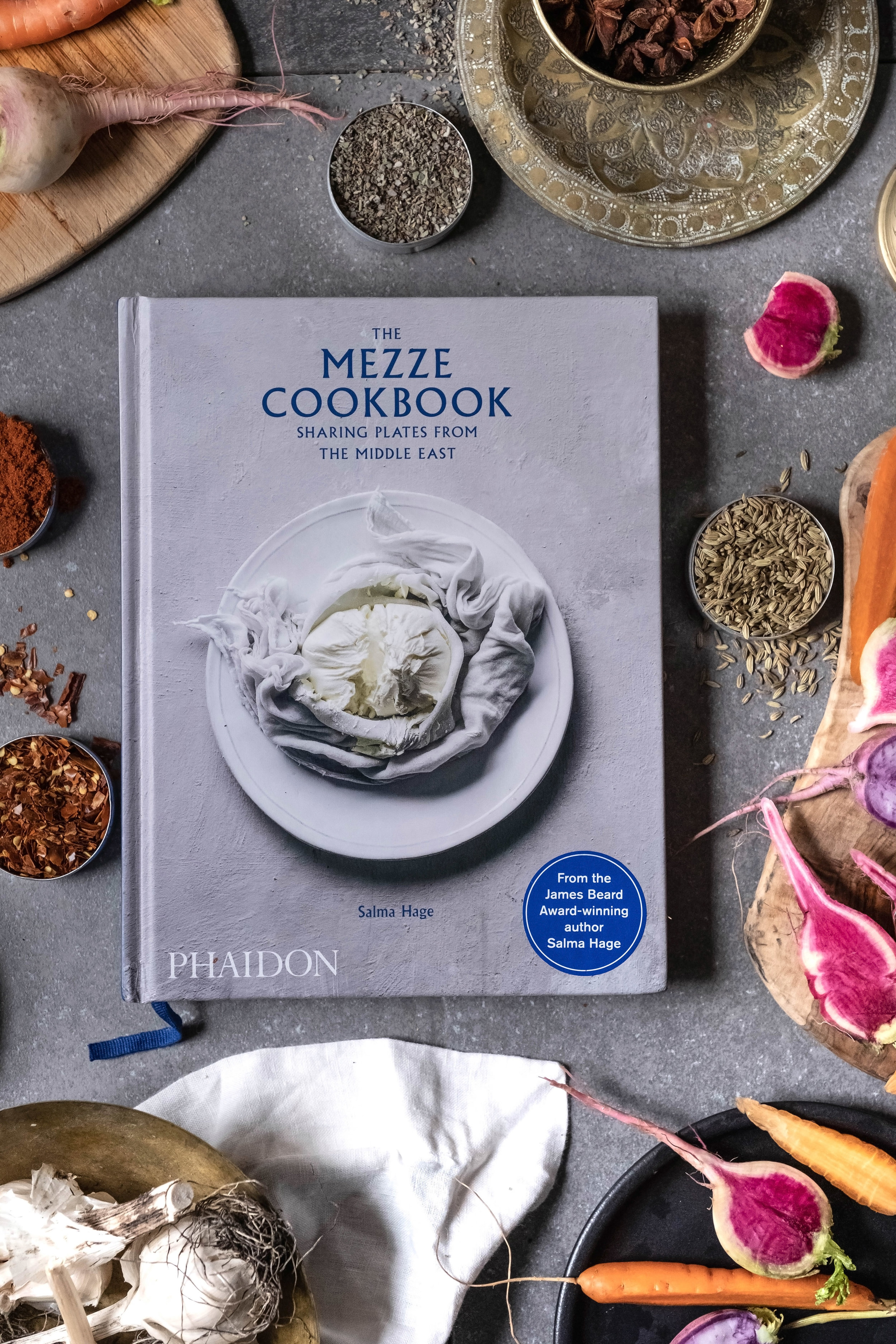 ROSE & IVY Journal Holiday Gifting Flavors of the Middle The Mezze Cookbook