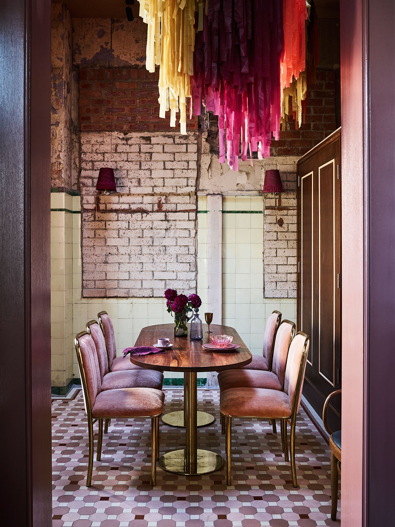 ROSE & IVY Journal Inspired Design | A Sydney Hotel Decorated in Muted Jewel Tones