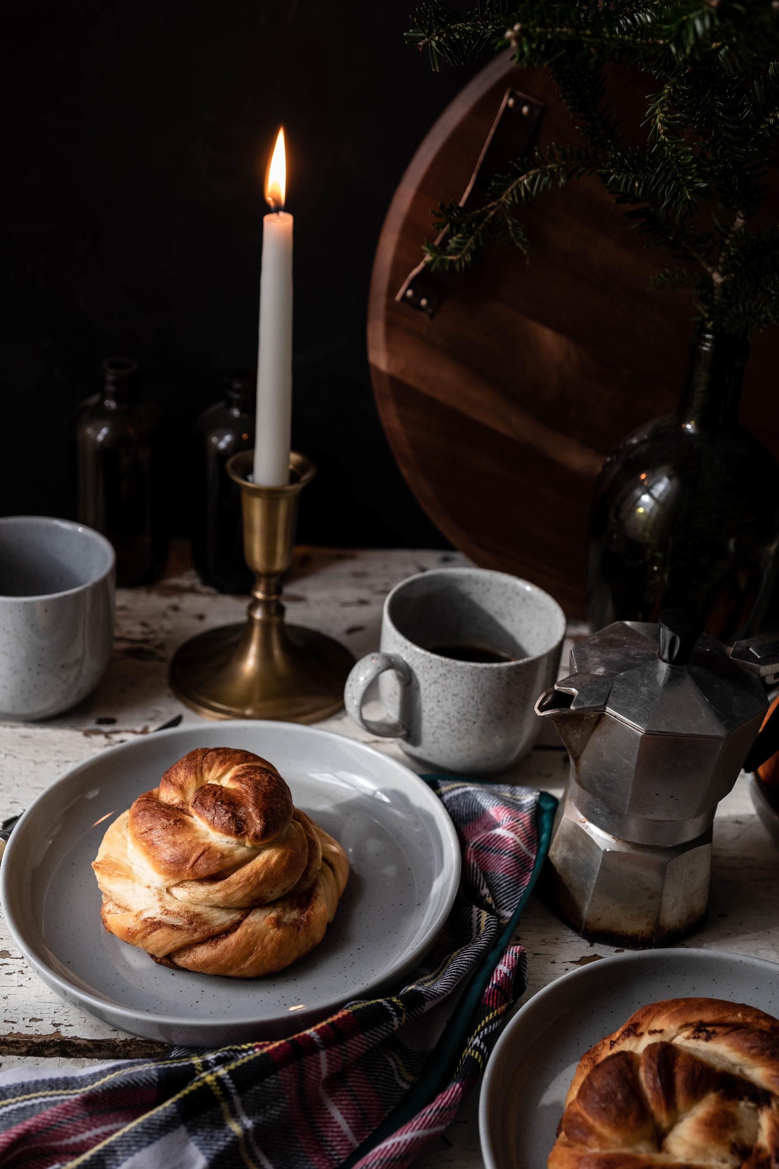 ROSE & IVY Journal Christmas Morning | 'Kanelbullar' Swedish Cinnamon Buns From The Nordic Baking BOok