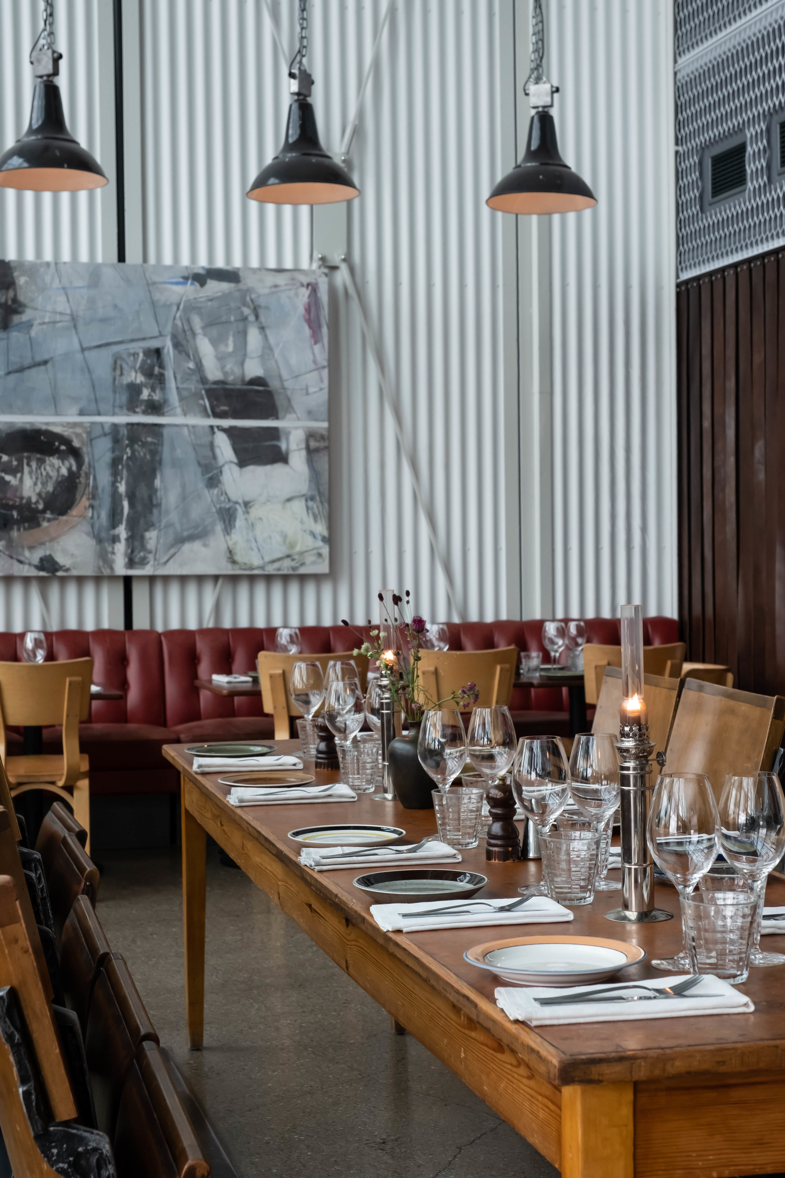 ROSE & IVY Journal Unique Spaces | Oaxen Slip A Rustic Nautical Restaurant in Stockholm