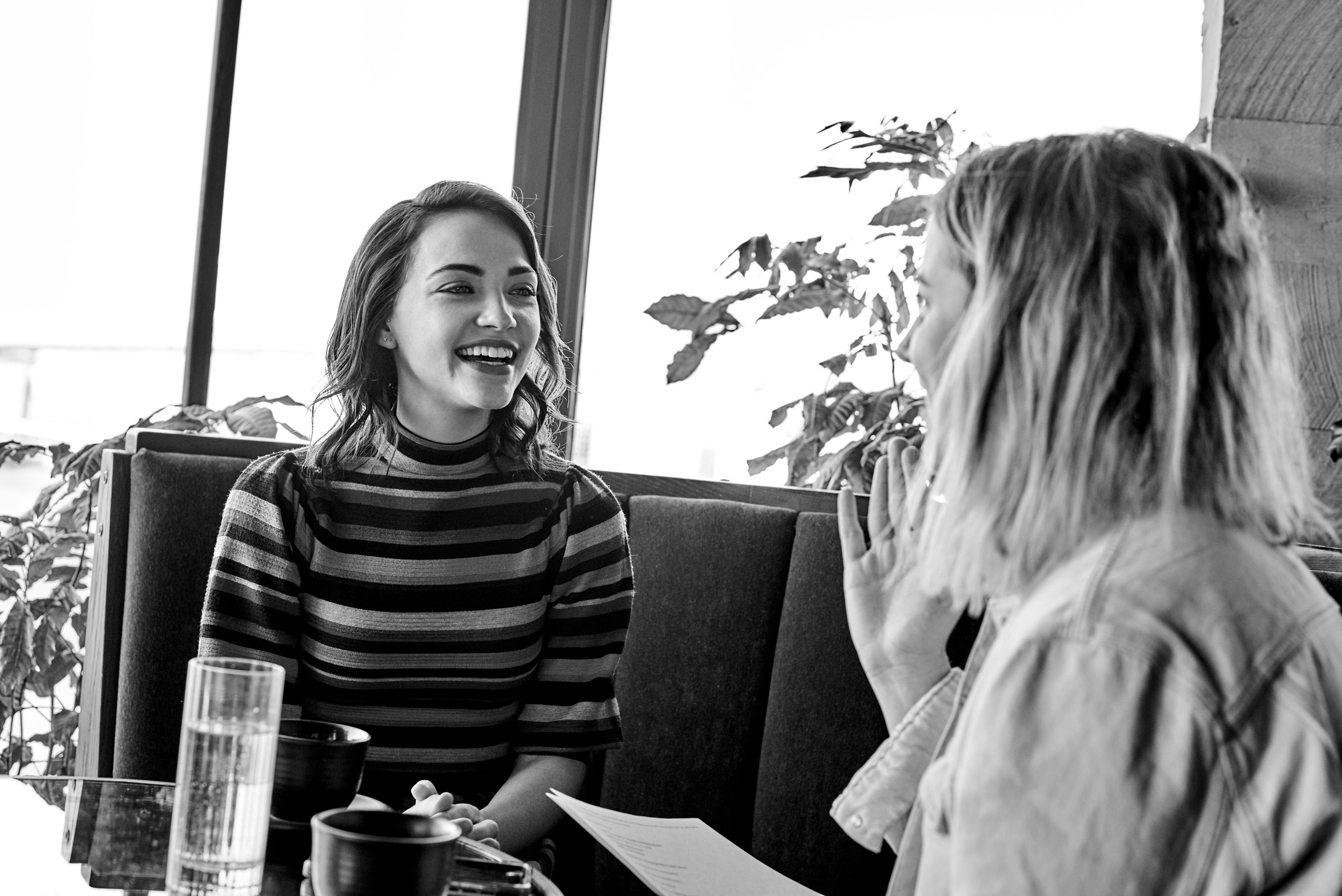 ROSE & IVY Journal Mornings With Violett Beane Star of God Friended Me