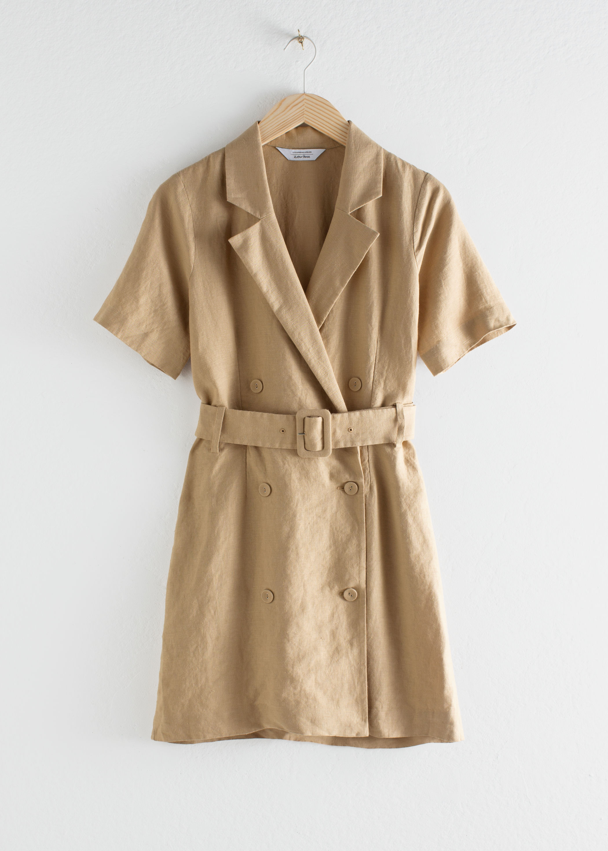 ROSE & IVY Journal The Find | A Belted Linen Dress