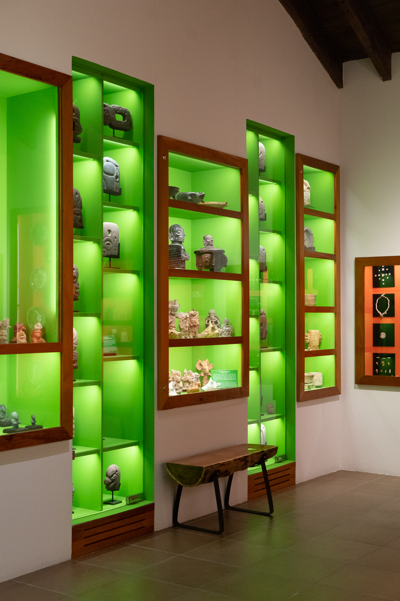 The property has its own private museum filled with Mayan artifacts from the surrounding region.