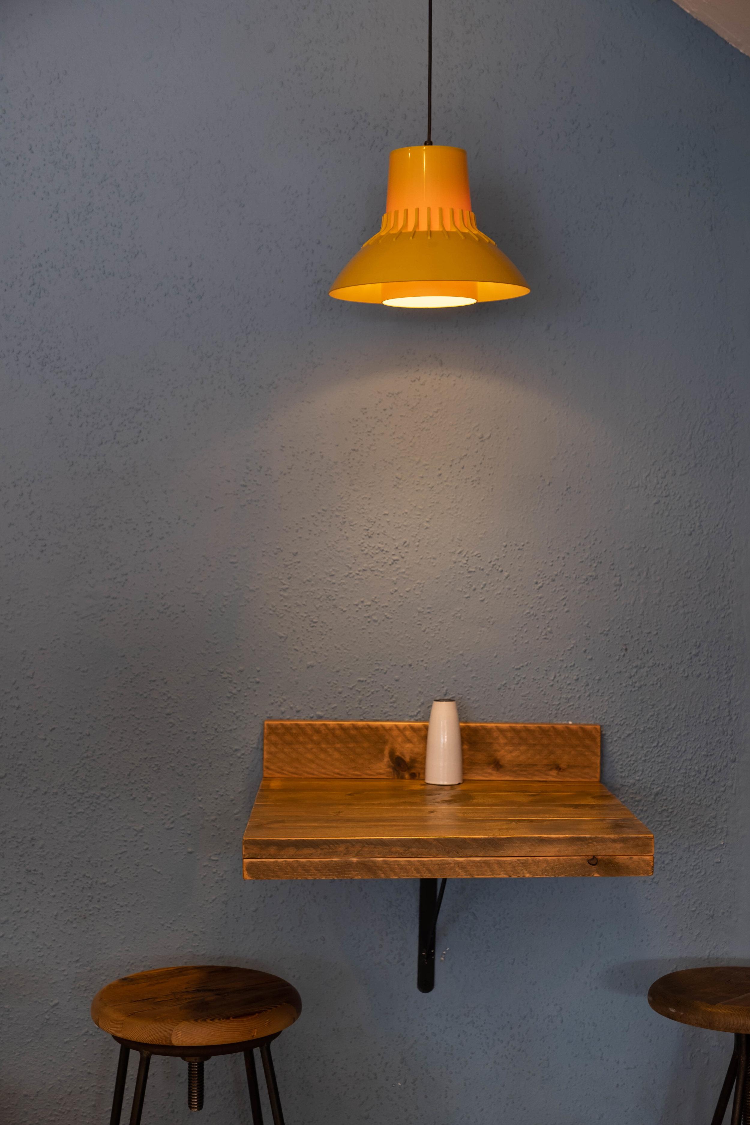 A table at Wandu Café