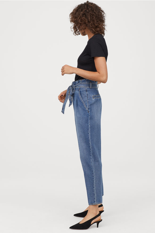 ROSE & IVY The Find Paper Bag Jeans H&M