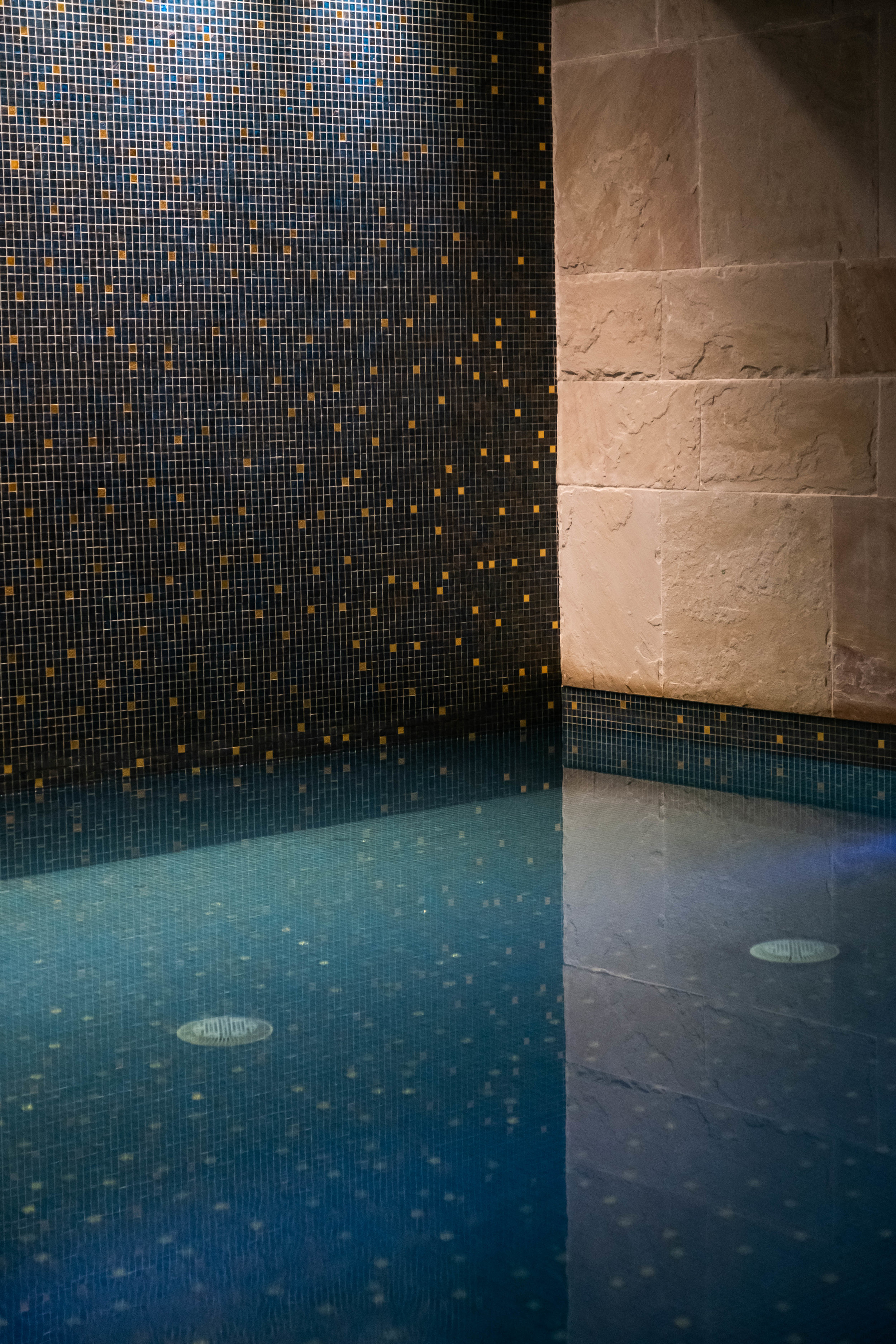 The relaxation pool in the hotel's spa is exactly for that, relaxing.