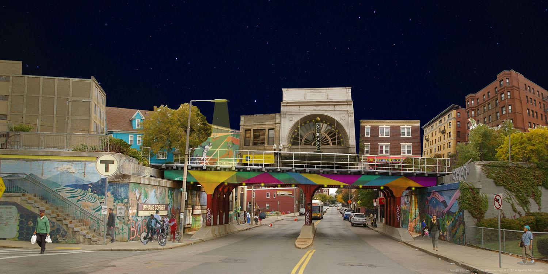 Imagining an Illuminated Upham's Corner Station