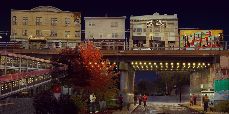 Imagining an Illuminated Readville Station