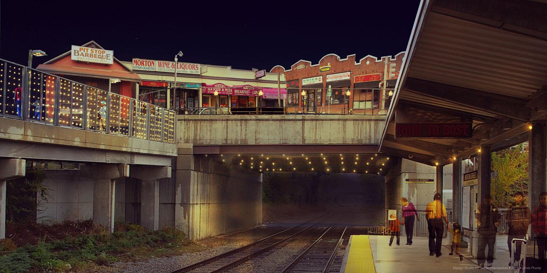 Imagining an Illumated Morton Street Station