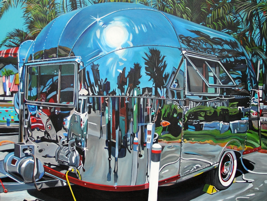 1957 Airstream Bubble (2012) - 40x30 acrylic on canvas Taralee Guild (low res).JPG
