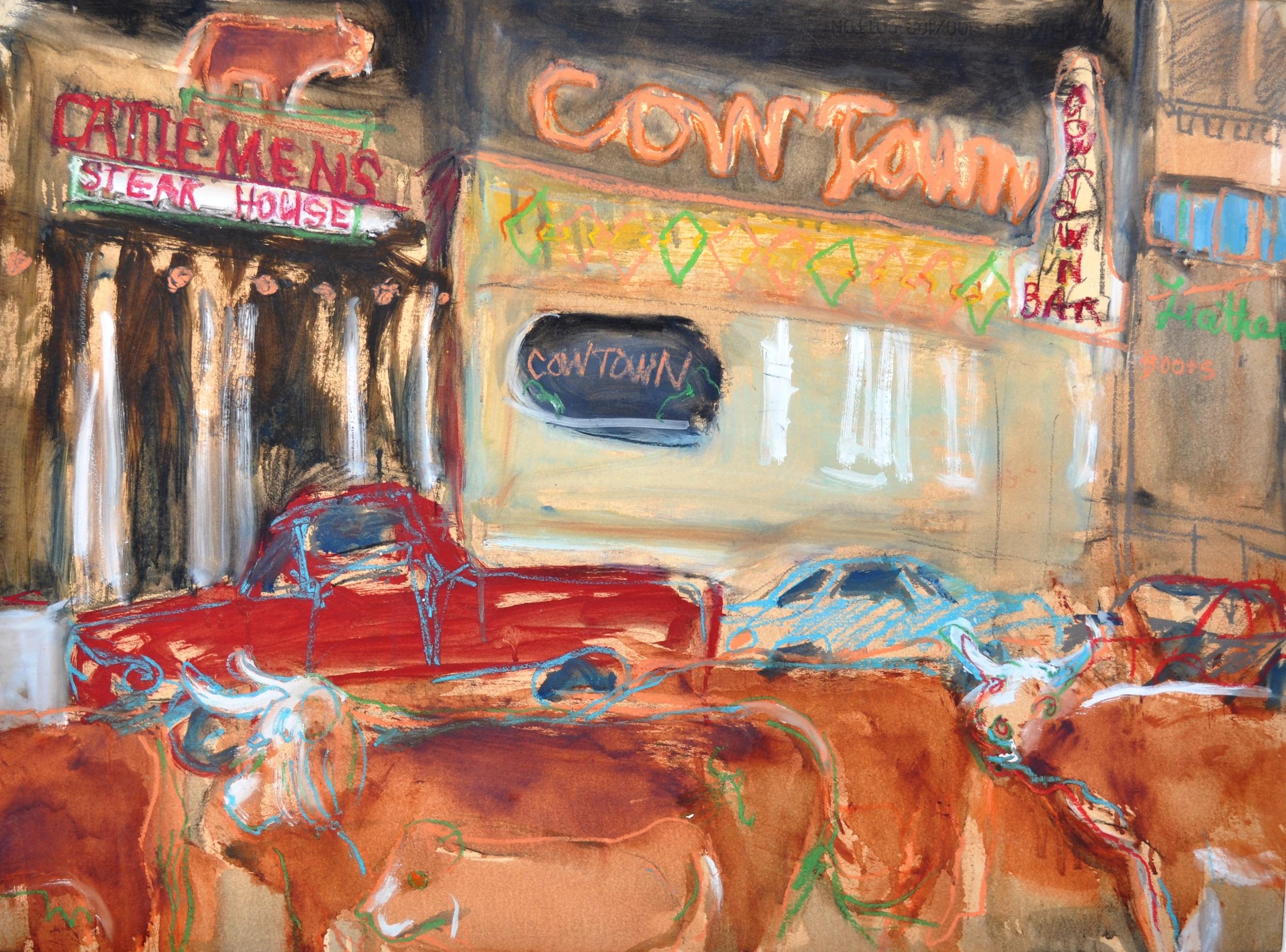 Cowtown by Susanne Vincent