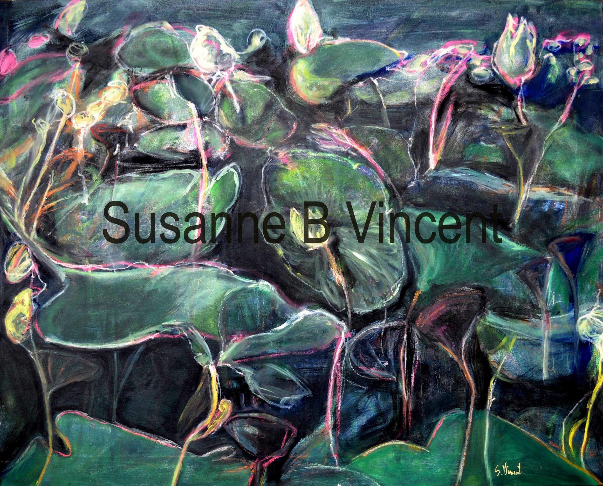Water Lilies by Susanne Vincent