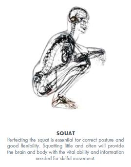 Squat Barefoot