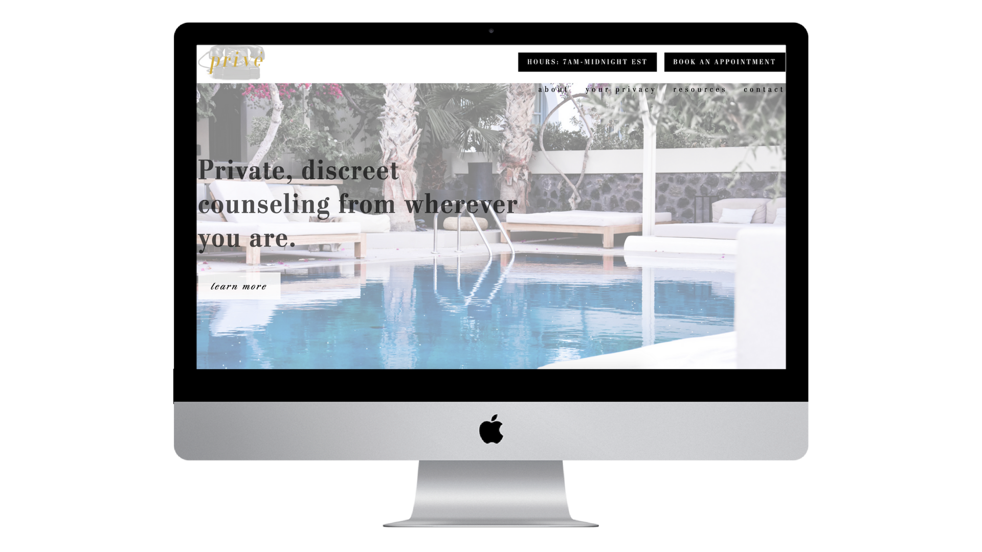 Luxury Web Design & Branding - for high-end service businesses