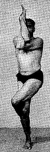 Garudasana Iyengar