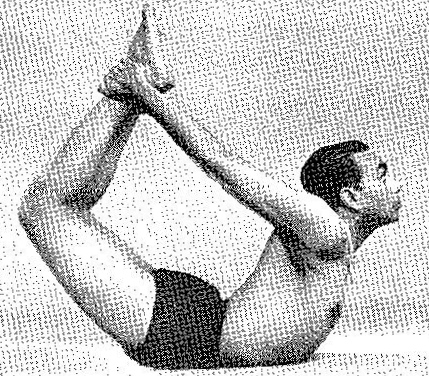 Dhanurasana Iyengar