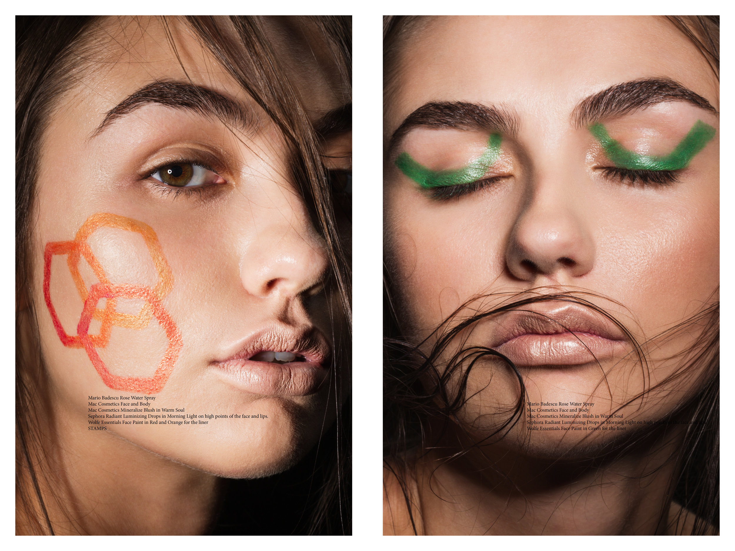Beauty editorial for  XIOX magazine
