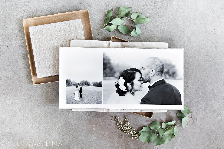 Luxury Wedding Album - Evelyn Molina Photography