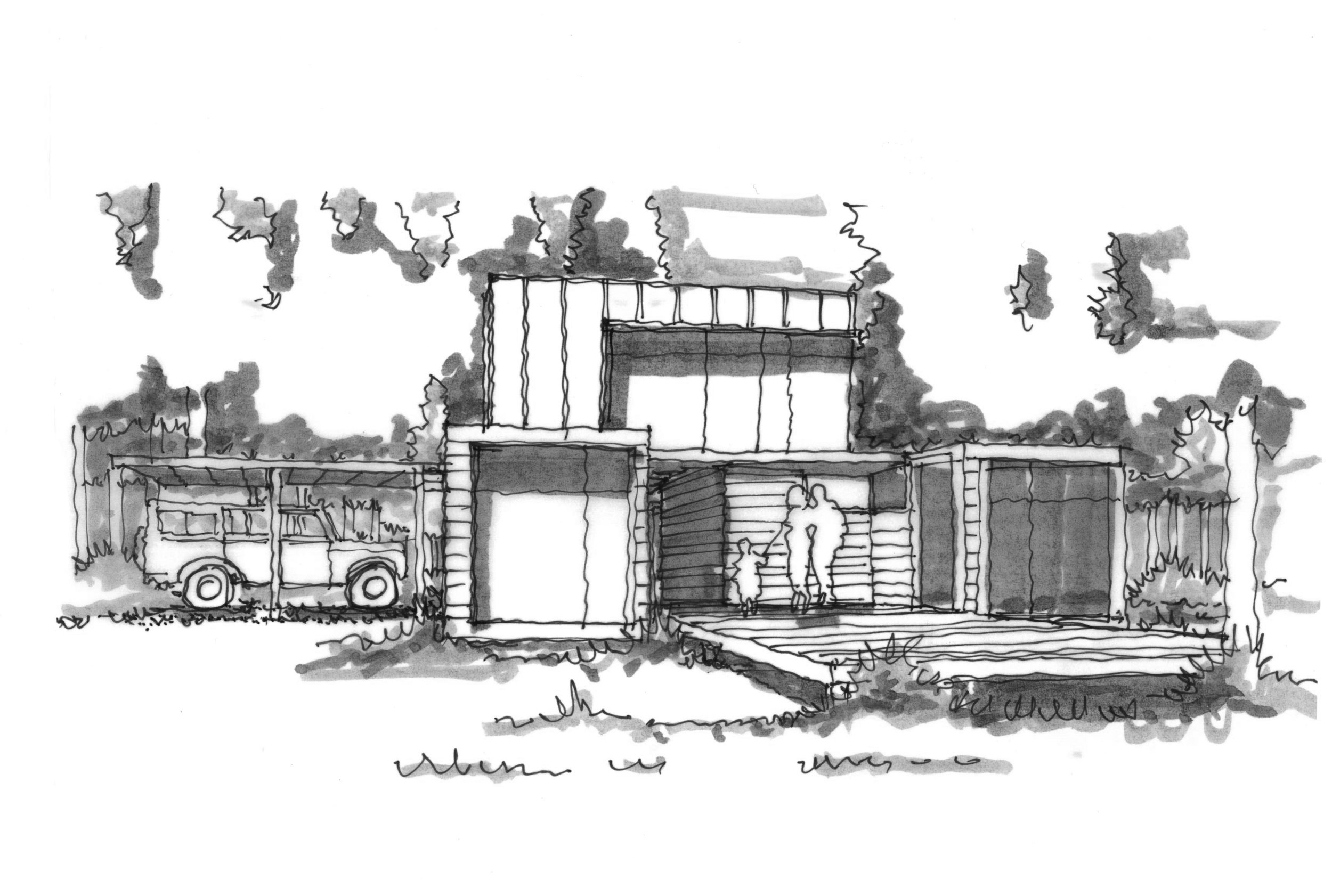 PT Shipping Container Residence  (Residential New Build, ~600 Sq Ft)