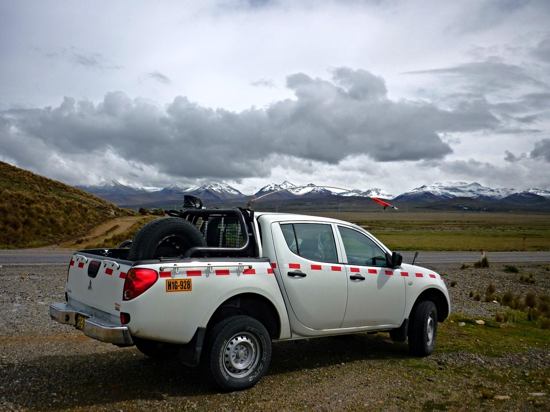 Renta pick-up Huaraz