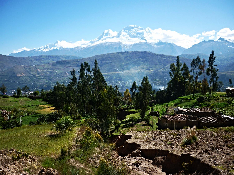 Huandoy and Huascaran Glaciers, Ulta valley