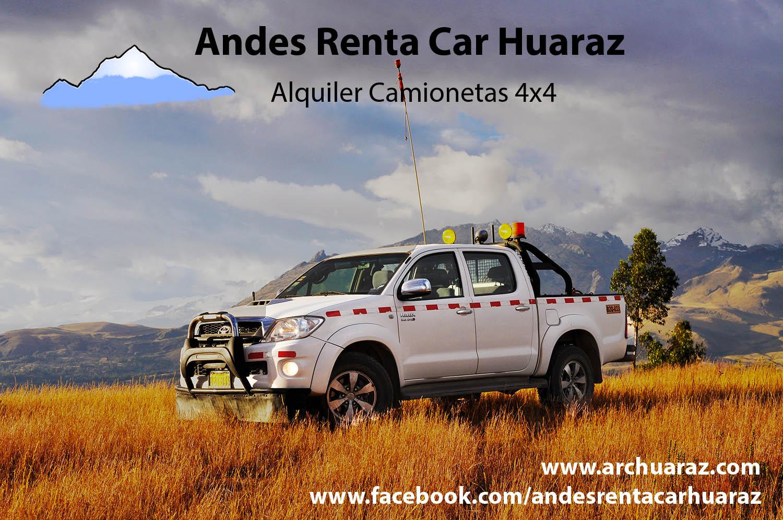 Alquilar coche Huaraz