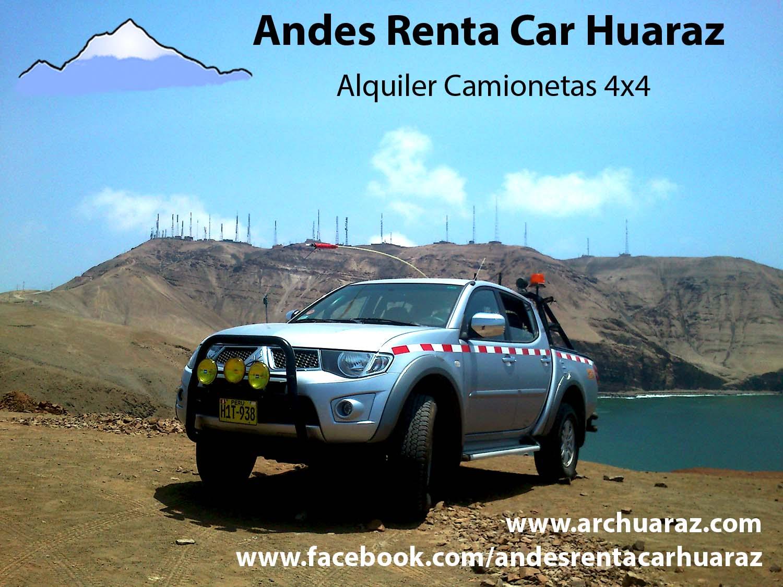 Alquilar movilidad Huaraz
