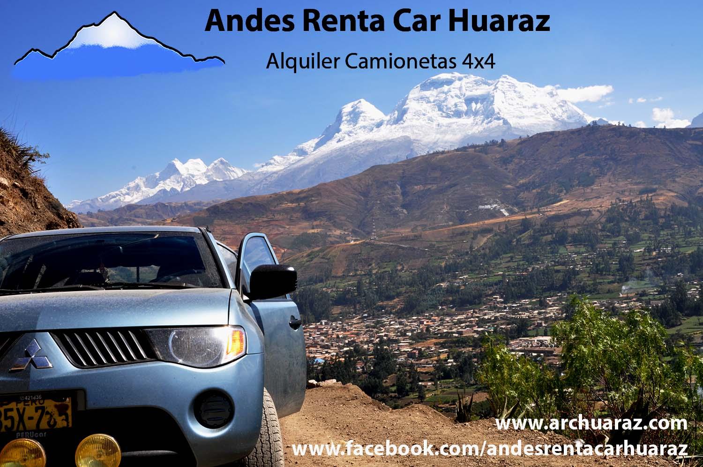 Renta camionetas Huaraz