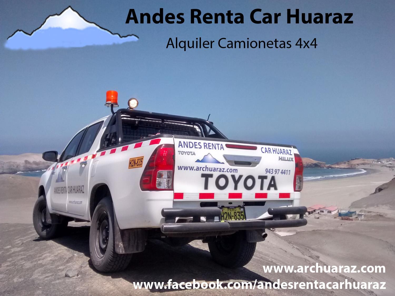 Alquilar vagón Huaraz