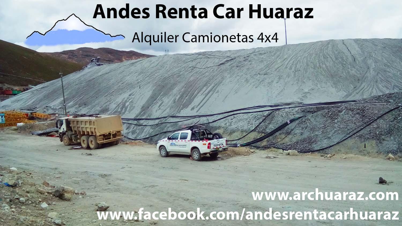 Alquilar camioneta RNP Ancash