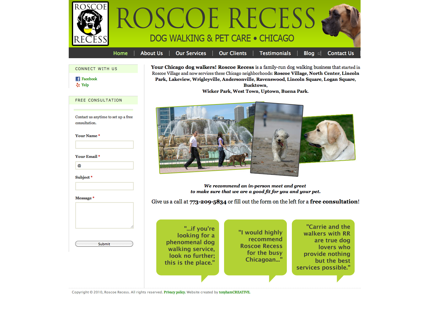 Home   Chicago dog walking   Roscoe Recess.png