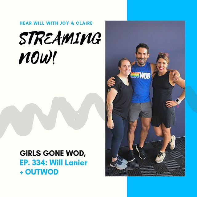 "Got a chance to chat with two of my favorite queens, @joyandclaire_ - discussing all things gay, CrossFit, gay CrossFit and really gay CrossFit (aka @outwod). . Check it out anywhere you get your podcasts. Search ""Girls Gone WOD"" and there we'll be. Search ""Girls Gone Wild"" and maybe we're there too 💁🏻‍♀️ . #crossfit #podcast #gaynews #executivedirector"