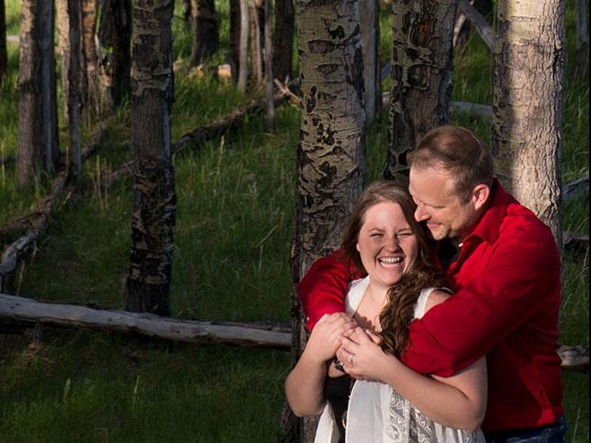Sarah & Brian {Engagement Guestbook Album}