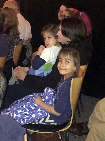 Adorable Audience Members - Torres Family