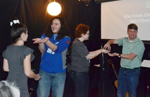 Elizabeth, Luke, Delia & Conner - Improv Players